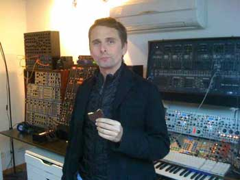Matthew Bellamy come galletas